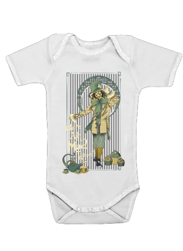 Chapelier fou for Baby short sleeve onesies