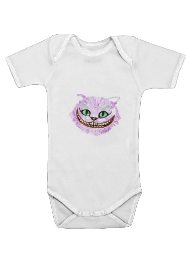 Cheshire Joker for Baby short sleeve onesies