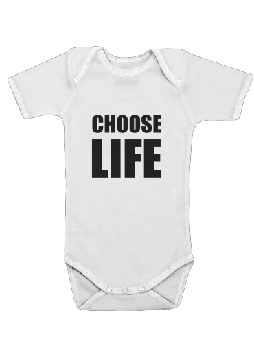 Choose Life for Baby short sleeve onesies