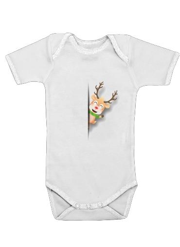 Onesies Baby Christmas Reindeer
