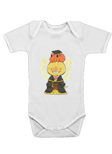 Classroom Koro sensei Ice Cream for Baby short sleeve onesies