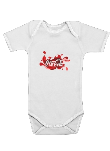 Coca Cola Rouge Classic for Baby short sleeve onesies