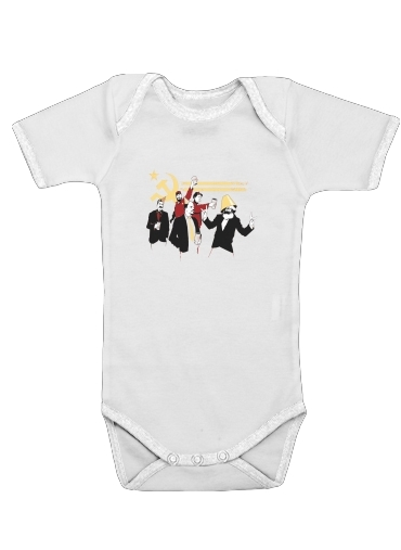Communism Party for Baby short sleeve onesies