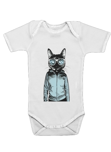 Onesies Baby Cool Cat