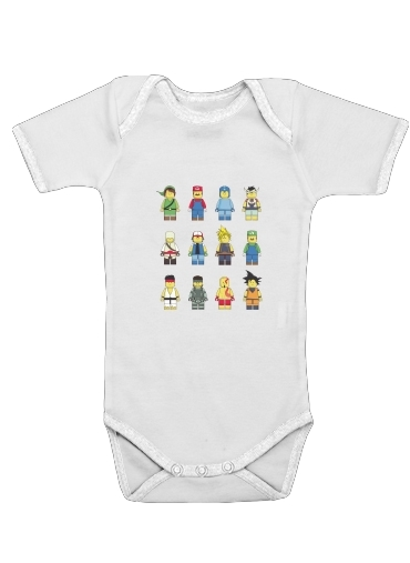 Cosplay  for Baby short sleeve onesies