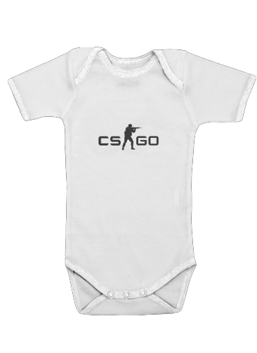 Counter Strike CS GO for Baby short sleeve onesies
