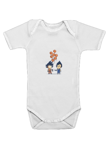 Crystal Balloons for Baby short sleeve onesies