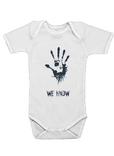 Onesies Baby Dark Brotherhood we know symbol