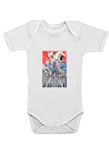 darling in the franxx for Baby short sleeve onesies