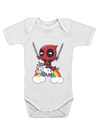 Onesies Baby Deadpool Unicorn