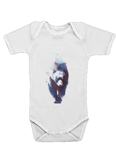 Death run for Baby short sleeve onesies