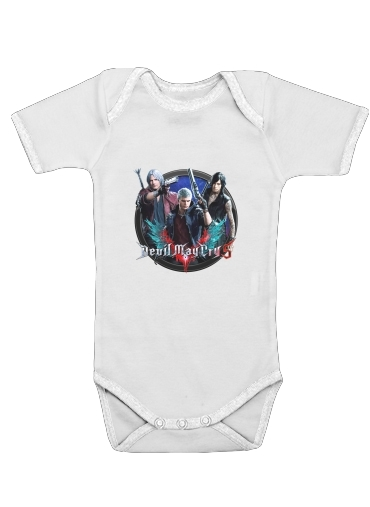 Devil may cry for Baby short sleeve onesies