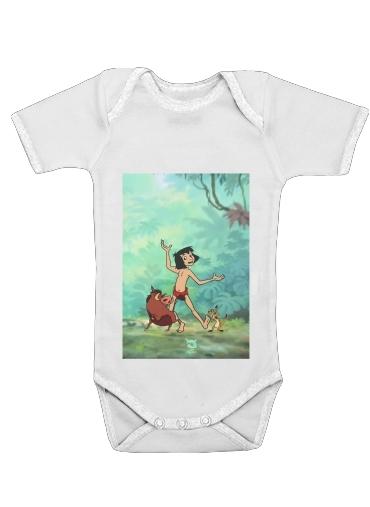 Onesies Baby Disney Hangover Mowgli Timon and Pumbaa