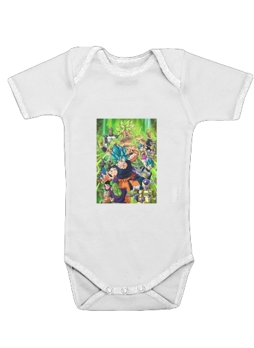 Dragon Ball Super for Baby short sleeve onesies