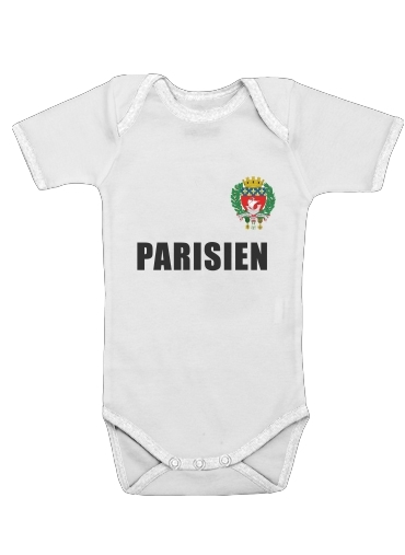 Onesies Baby Drapeau Paris