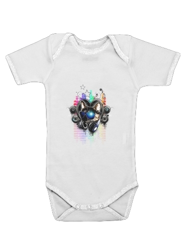 Drop The Bass for Baby short sleeve onesies
