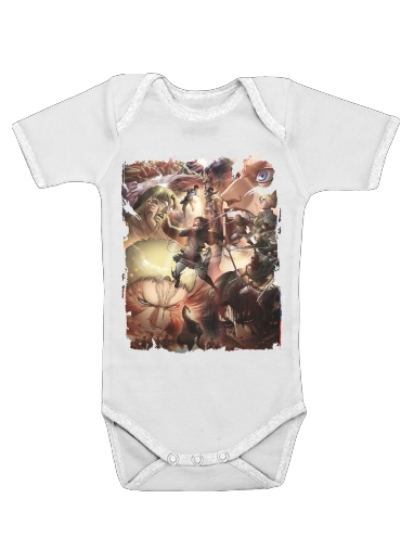 Onesies Baby Eren Family Art Season 2