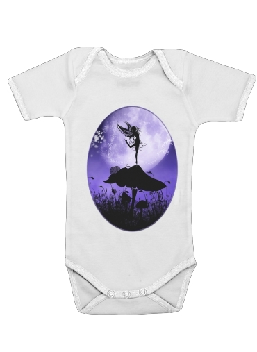 Fairy Silhouette 2 for Baby short sleeve onesies