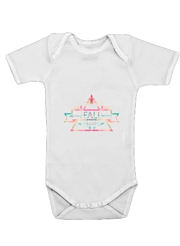 FALL LOVE for Baby short sleeve onesies