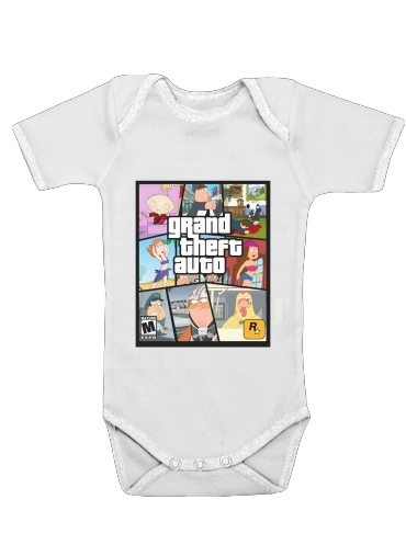 Onesies Baby Family Guy mashup GTA