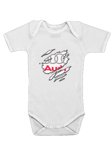 Fan Driver Audi GriffeSport for Baby short sleeve onesies