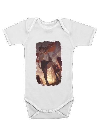 Fate Stay Night Tosaka Rin for Baby short sleeve onesies