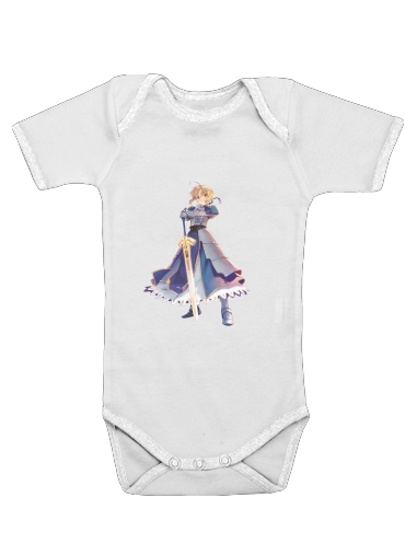 Onesies Baby Fate Zero Fate stay Night Saber King Of Knights
