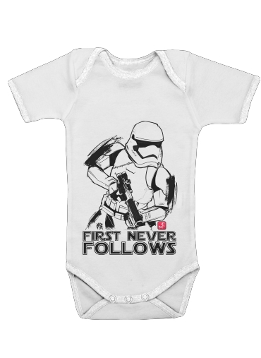 Onesies Baby First Never Follows