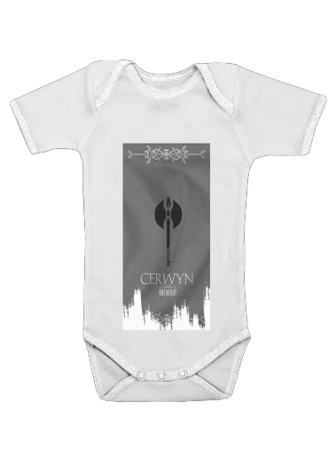Flag House Cerwyn for Baby short sleeve onesies