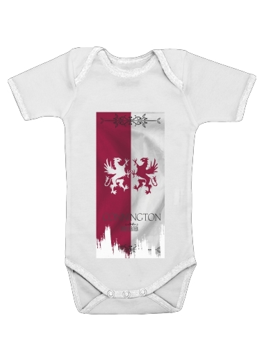Flag House Connington for Baby short sleeve onesies