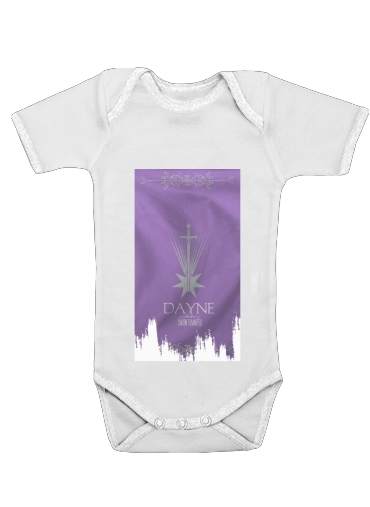 Flag House Dayne for Baby short sleeve onesies