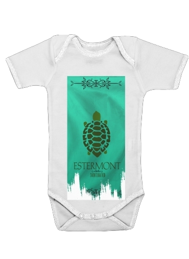 Flag House Estermont for Baby short sleeve onesies