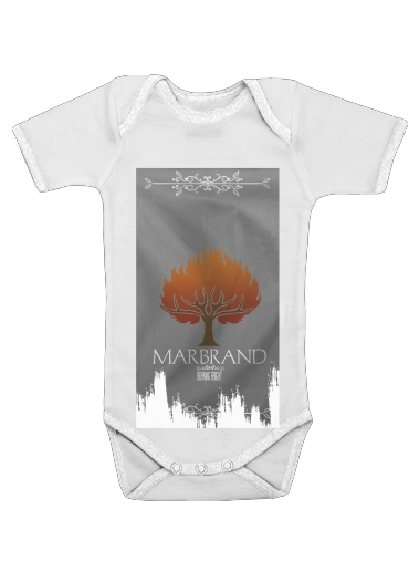 Flag House Marbrand for Baby short sleeve onesies