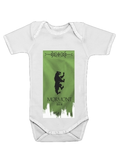 Flag House Mormont for Baby short sleeve onesies