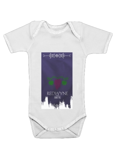 Flag House Redwyne for Baby short sleeve onesies