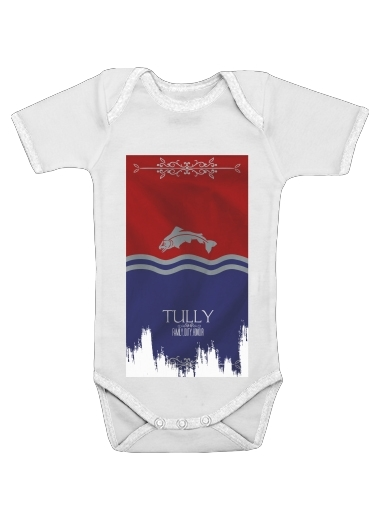 Flag House Tully for Baby short sleeve onesies