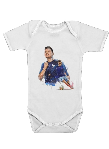 florian thauvin for Baby short sleeve onesies