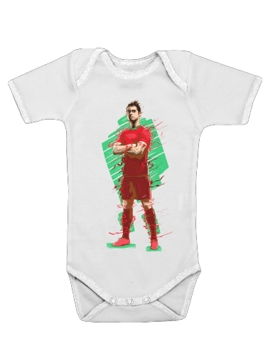Onesies Baby Football Legends: Cristiano Ronaldo - Portugal