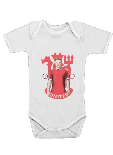 Onesies Baby Football Stars: Red Devil Rooney ManU