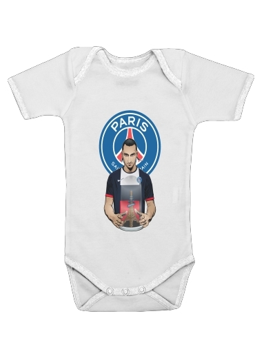 Onesies Baby Football Stars: Zlataneur Paris