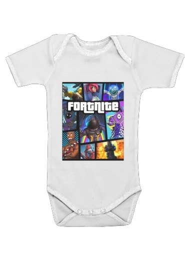 Onesies Baby Fortnite - Battle Royale