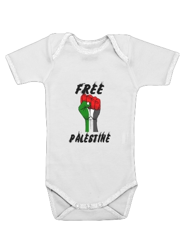 Free Palestine for Baby short sleeve onesies