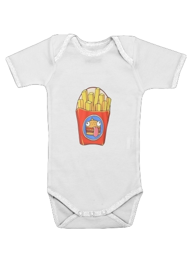 Onesies Baby French Fries by Fortnite
