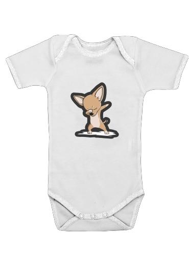 Onesies Baby Funny Dabbing Chihuahua