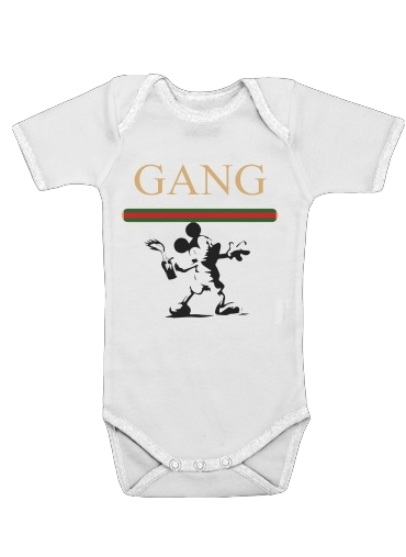 Gang Mouse for Baby short sleeve onesies