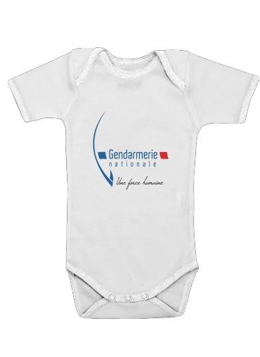 Onesies Baby Gendarmerie Une forme humaine