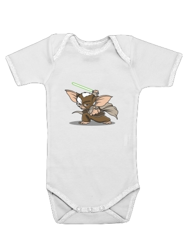 Gizmo x Yoda - Gremlins for Baby short sleeve onesies
