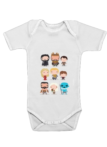 Got characters for Baby short sleeve onesies