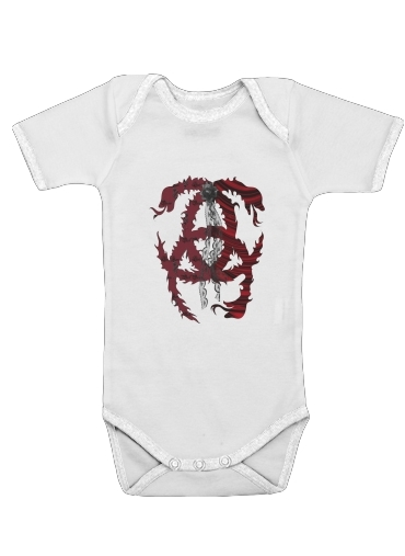 Gothic Elegance for Baby short sleeve onesies