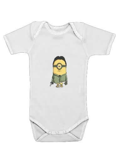 Gruter White for Baby short sleeve onesies
